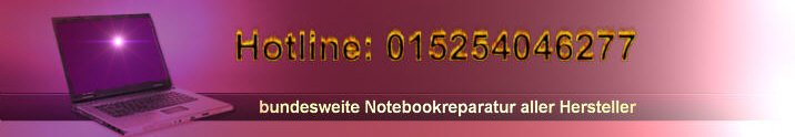 Notebook Reparatur Banner