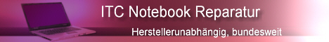 ITC Notebook Display Reparatur deutschlandweit